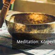 Meditation: Körperhaltung